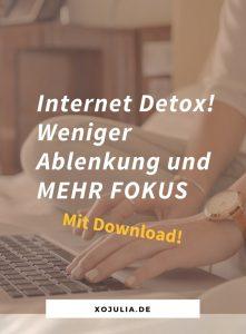 Weniger Ablenkung durch das Internet – auch für Internet-Addicts!