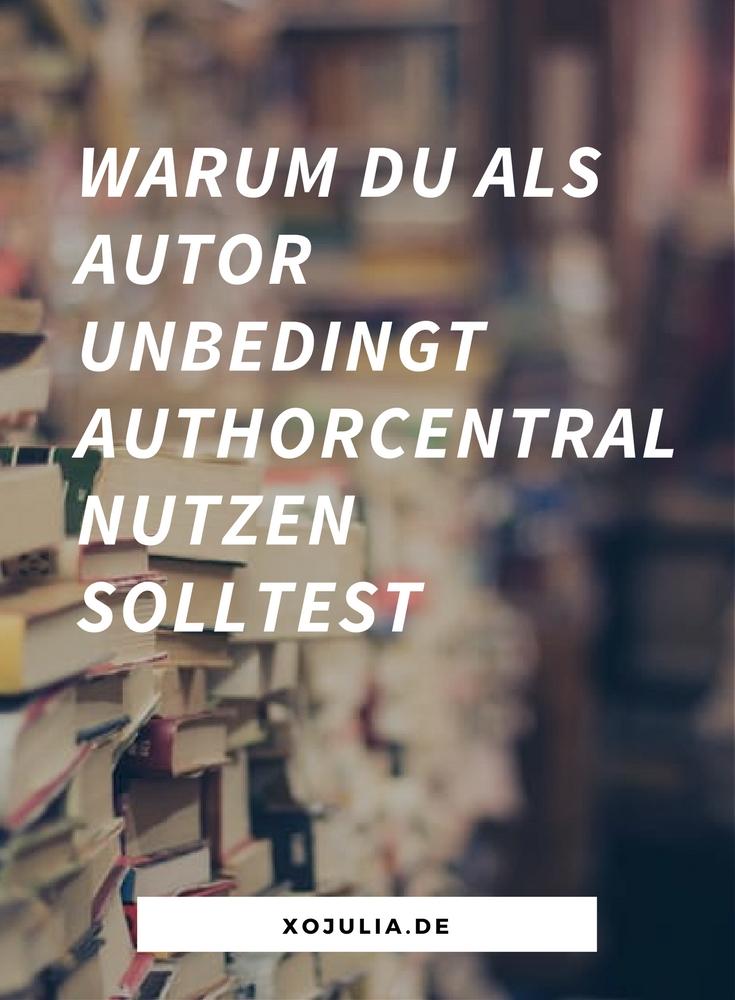 Als Autor AuthorCentral für Buchmarketing nutzen