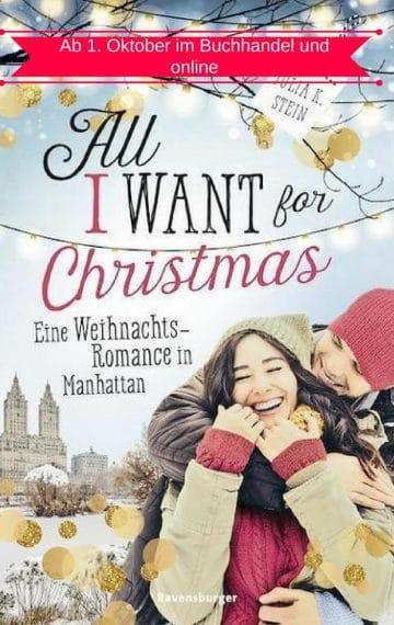 All I Want For Christmas: 1. Oktober 2018 NEU!