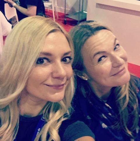 Frankfurter Buchmesse 2017 Julia K. Stein und Nina Mackay
