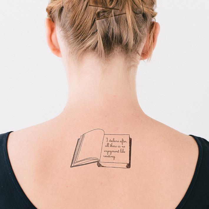 Literarisches Tattoo