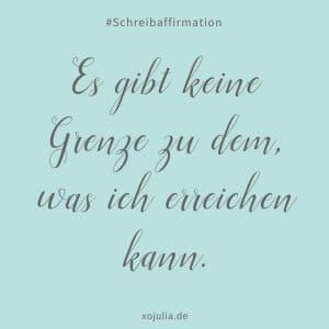 #schreibaffirmation 24