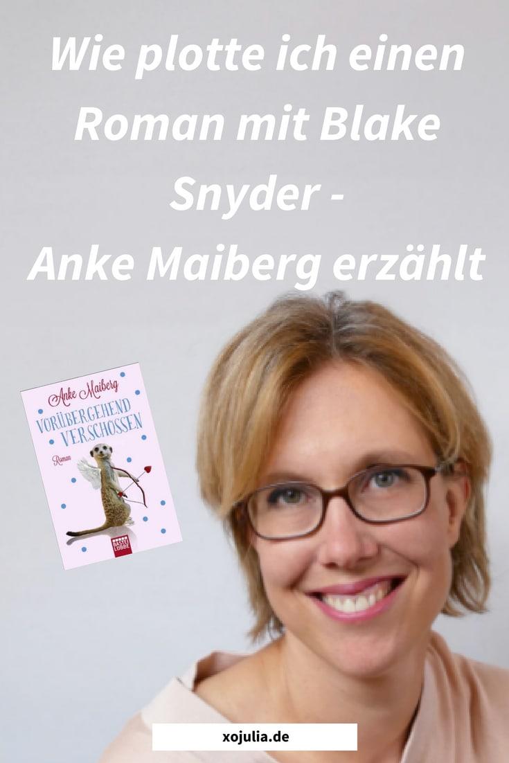 Wie plotte ich einen Roman mit Blake Snyder – Anke Maiberg erzählt