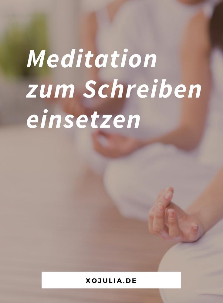 So kannst du mit Meditation dein Schreiben verbessern