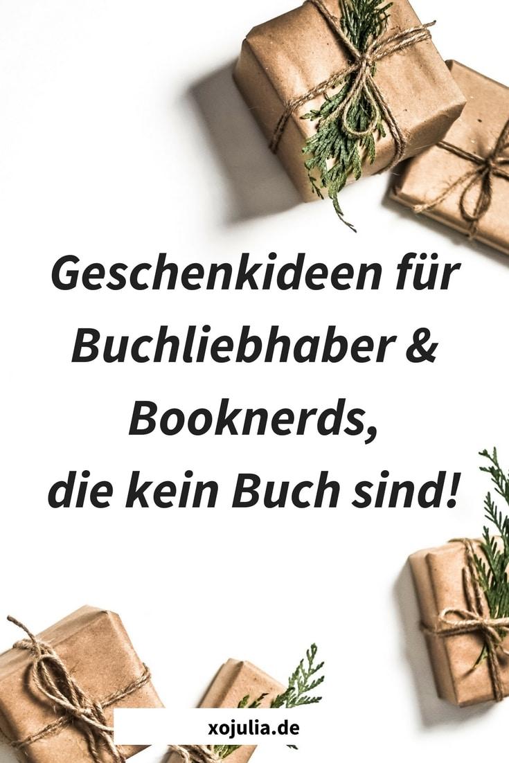 Geschenkideen für Buchliebhaber & Booknerds, die kein Buch sind