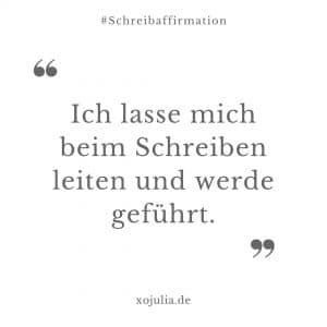 #schreibaffirmation 20