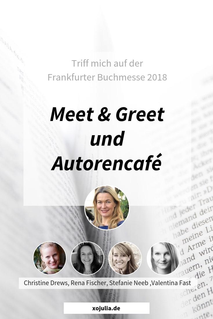 Meet & Greet und Autorencafé auf der Frankfurter Buchmesse 2018