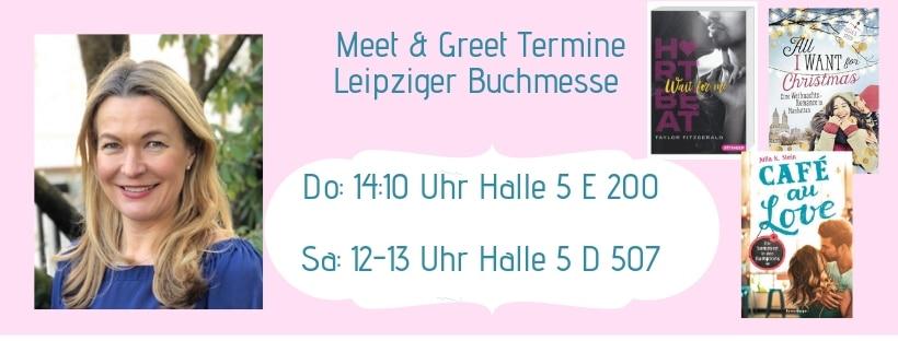 Meine Termine auf der Leipziger Buchmesse