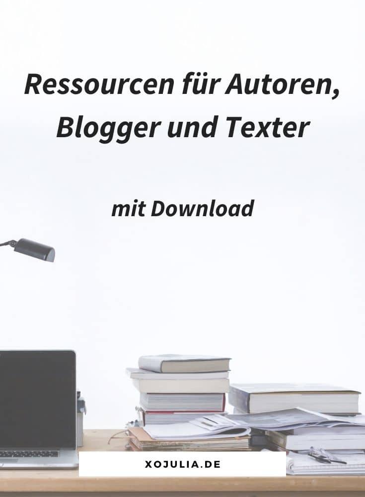 ressourcen für blogger